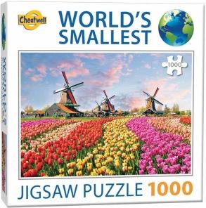 World Smallest Puzzle - Väderkvarnar Tyskland -