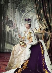 Pussel - Drottning Elisabeth II -