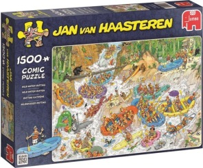 Jan van Haasteren - Wild Water Rafting -