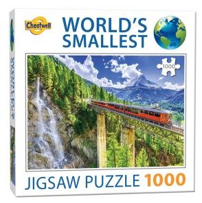 World Smallest Puzzle - Matterhorn Switzerland -
