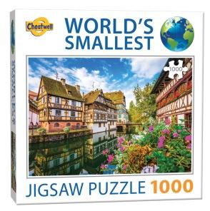 World Smallest Puzzle - Strasbourg -