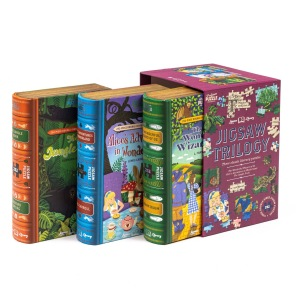 Bok & Pussel - Jigsaw Trilogy -