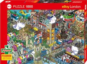 Pussel - London Quest -