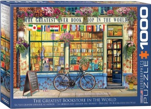 Pussel - The Greatest Bookstore in the World -