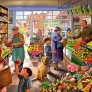Pussel - Village Greengrocer