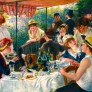 Konst Pussel - Renoir Luncheon of the Boating Party