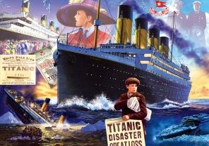 Pussel - Titanic Bluebird -
