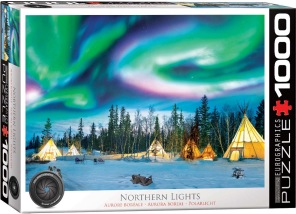 Pussel - Northern Lights -