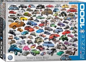 Pussel - VW Beetle Bug -