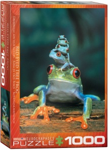 Pussel - Tree Frog -
