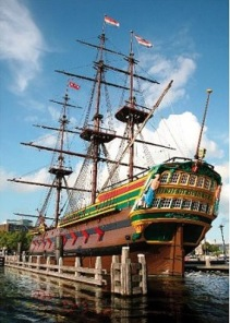 Pussel - Famous Places Amsterdam -