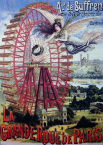 Pussel - Lagrade Roue de Paris -
