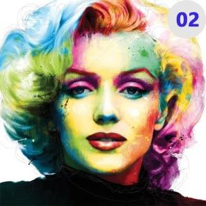 Diamantmålning - Marilyn Monroe -