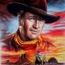 Diamantmålning - John Wayne