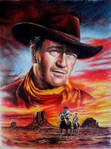 Diamantmålning - John Wayne -