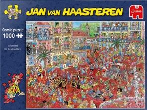Jan van Haasteren - La Tomatina -