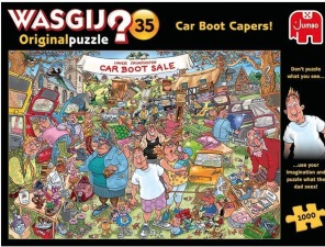 Wasgij - Car Boot Capers -