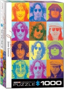 Beatles Pussel - John Lennon Collage -
