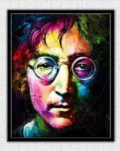 Diamantmålning - John Lennon -