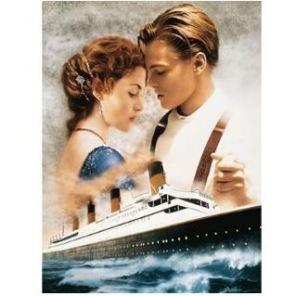 Diamantmålning - Titanic -