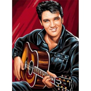 Diamantmålning - Elvis Presley -