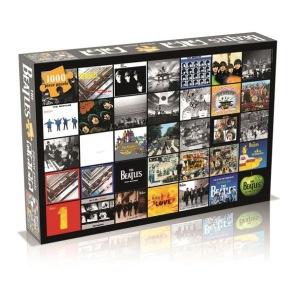 Beatles Pussel - Album Collage -