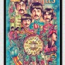 Diamantmålning - Beatles - 40 x 50 cm
