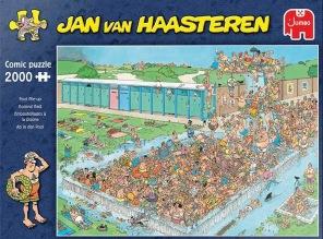 Jan van Haasteren - Pool Pile-Up -