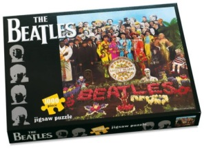 Beatles Pussel - Sgt Peppers Lonely Hearts Club Band -