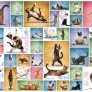 Pussel - Yoga Cats