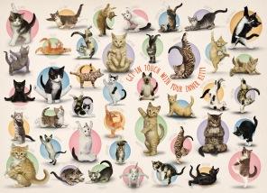 Pussel - Yoga Kittens -