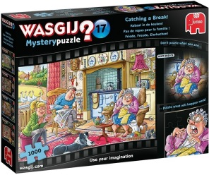 Beg. Wasgij - Catching a Break -