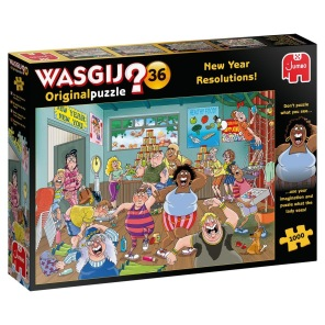 Beg. Wasgij - New Year Resolutions -