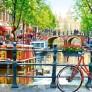 Pussel - Amsterdam Landschape