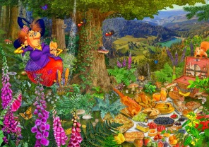 Francois Ruyer - The Witch Picnic -