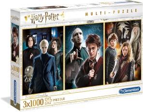 Harry Potter - 3 x 1000 bitar -