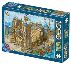 Pussel - Comic Notre Dame -