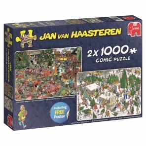 Jan van Haasteren - Christmas Dinner/Christmas Tree -