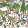 Jan van Haasteren - Christmas Dinner/Christmas Tree