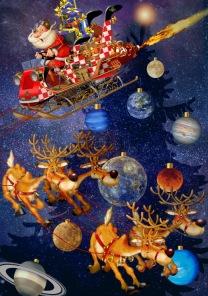 Pussel - Santa Claus is arriving -