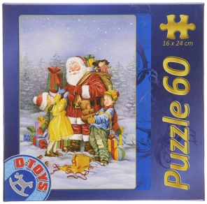 Pussel - Santa Claus is Here