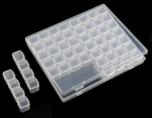 Diamantmålning - Praktisk Förvaringsbox -