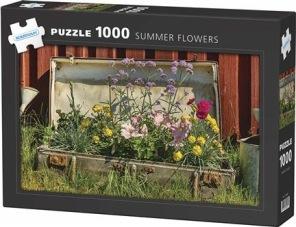 Beg. Pussel - Summer Flower -