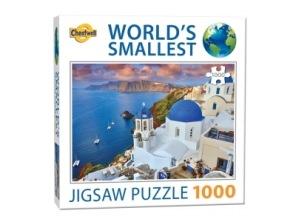 Beg. World Smallest Puzzle - Santorini Grekland -