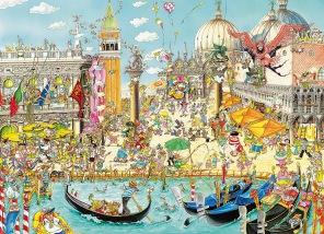 Pussel - Venice -