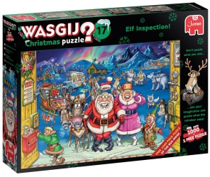 Wasgij - Elf Inspecction + free pussel -