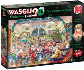Wasgij - The Christmas Show + free pussel -