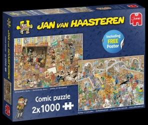 Jan van Haasteren - A Tripp to the Museum -