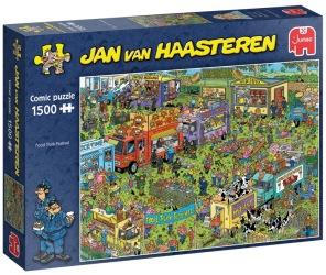 Jan van Haasteren - Food Truck Festival -