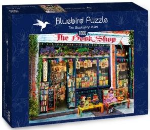 Pussel - The Bookshop -
